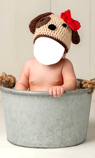 Baby Costume Photo Montage - náhled