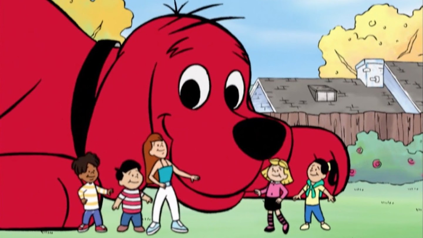Watch Clifford the Big Red Dog live