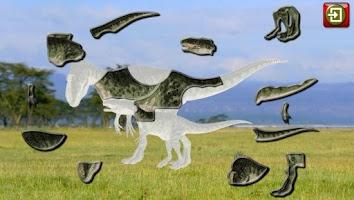 Screenshot of Kids Dinosaur Puzzles