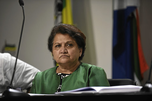ANC deputy secretary-general Jessie Duarte has a letter of grievances.