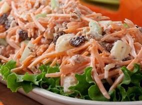 Carrot-apple Waldorf Salad Recipe