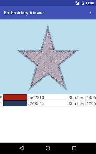 Embroidery Viewer 1.0 screenshots 3