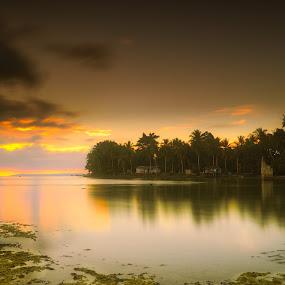 Sunset , Papua  by David Loarid - Landscapes Sunsets & Sunrises