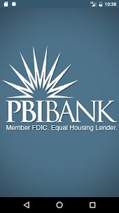 PBI Bank - Mobile Banking - náhled