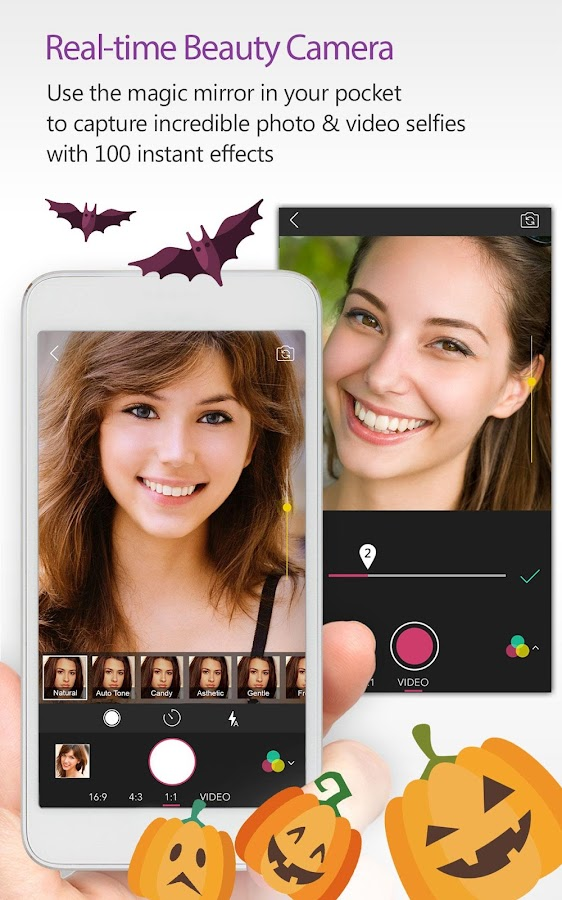 Screenshots of YouCam Perfect - Selfie Pro for iPhone
