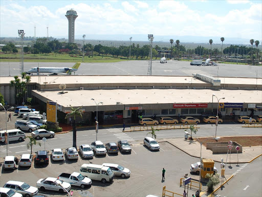 The JKIA arrivals and departure terminal.