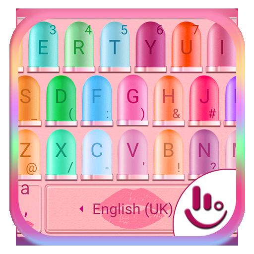 Lipstick Keyboard Theme