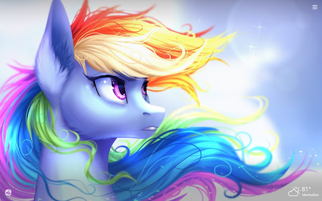 My Little Pony HD Wallpapers New Tab