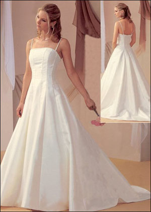 Simple Bridal Gowns #22123