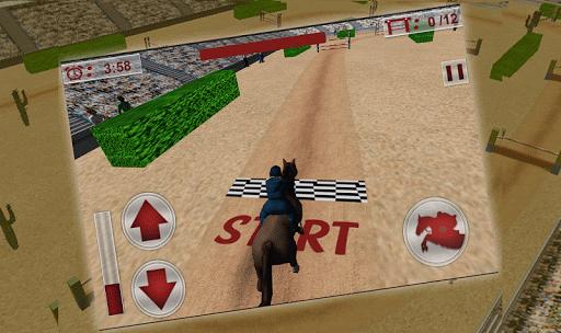 Jumping Horse Racing Simulator Apk Download Free for PC, smart TV