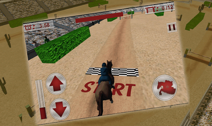 Jumping Horse Racing Simulator- screenshot thumbnail