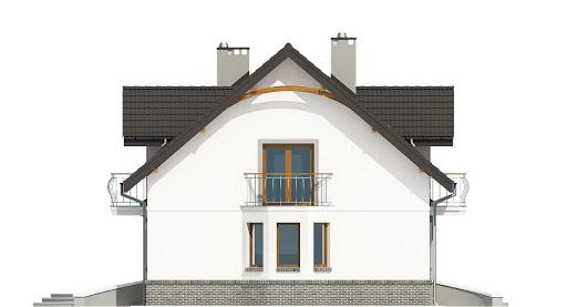Dom Dla Ciebie 3 z garażem 2-st. A3 - Elewacja lewa