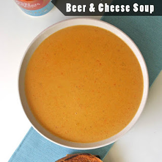 Vegan IPA Beer and Cheese Soup