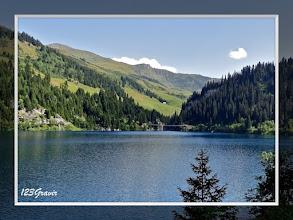 Photo: Lac Saint‐Guérin et passerelle himalayenne