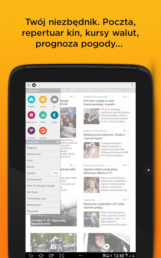 Onet News - wiadomości- screenshot