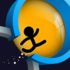 The Circle Run: Stickman Jump & Running in Circles icon