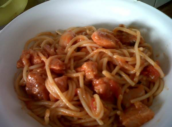 Spagetti With Pork Chop Recipe