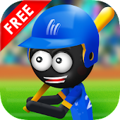 Stickman Baseball Home Run