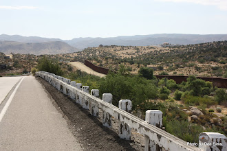 Photo: (Year 3) Day 35 -  The Fence on the US and Mexican Border #5