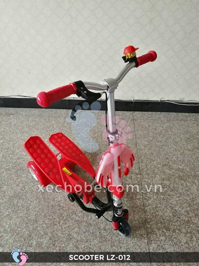 Xe trượt Scooter đạp chân LZ-012 có đèn, nhạc 7