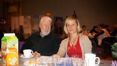 Photo: Autorka niniejszych zdjęć we własnej osobie ze Zbyszkiem Tomaszewskim (w równie własnej osobie).
