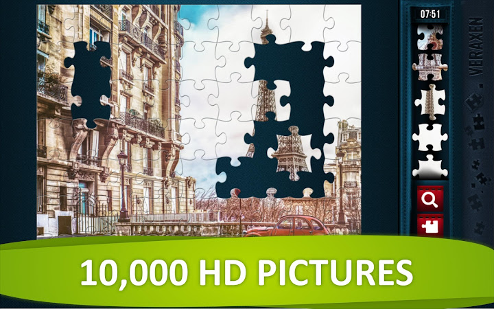 Jigsaw Puzzle Collection HD - puzzles for adults Android App Screenshot
