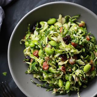 Autumn Kale & Brussel Sprout Salad
