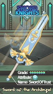 Sword Knights : Idle RPG Mod Apk Download For Android and Iphone 7