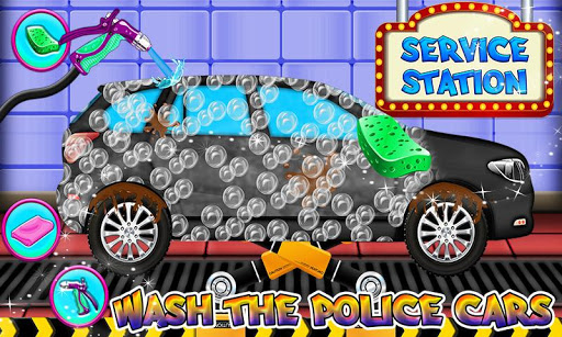 Police Multi Car Wash: Design Truck Repair Game 1.0 3