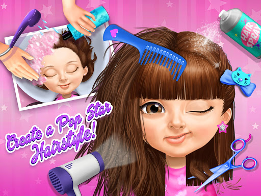 Sweet Baby Girl Pop Stars - Superstar Salon & Show  screenshots 9