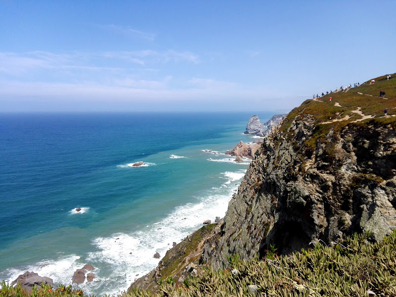 Cabo da Roca: da quì, solo l'oceano di cristina_cetra
