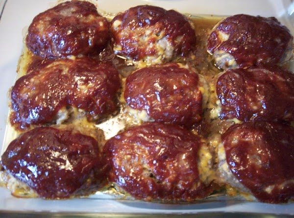 Li'l Cheddar Meat Loaves Recipe