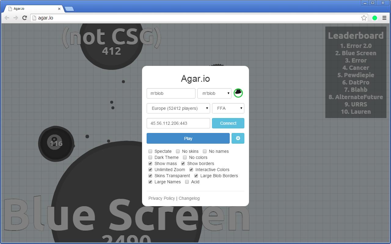 Agar io Mods 0 3 16 Screenshots - Crx4Chrome