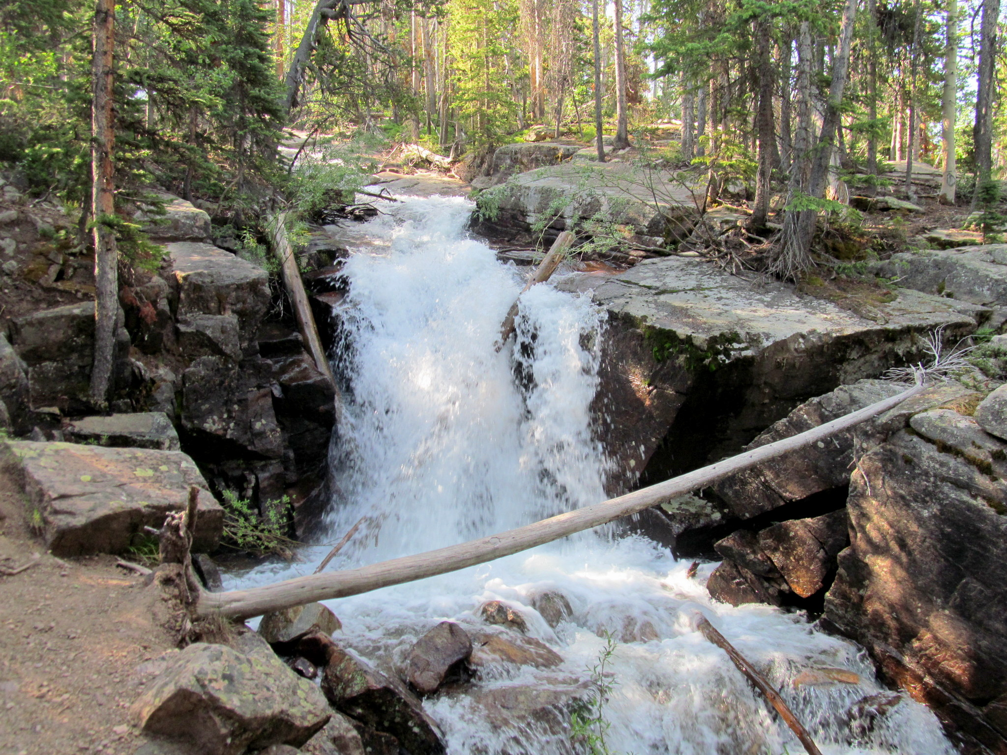 Photo: Ostler Fork falls