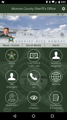 Monroe County Sheriff's Office screenshot 1
