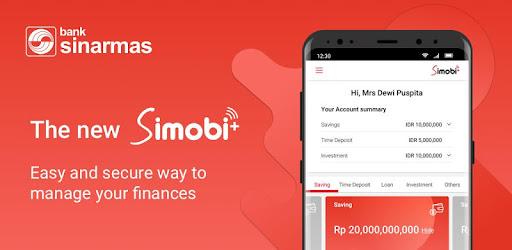 Image result for Aplikasi Simobiplus Dari Bank Sinarmas
