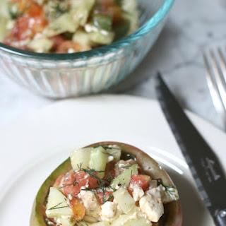Stuffed Heirloom Tomato Salad