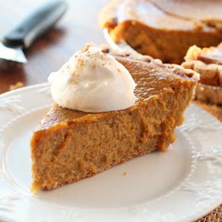 Best Pumpkin Pie.
