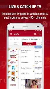 JioTV Live Sports Movies Shows 5.4.0 Apk 1