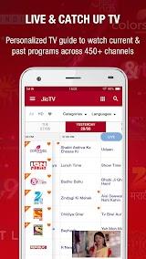 JioTV - Live TV & Catch-Up Apk Download Free for PC, smart TV