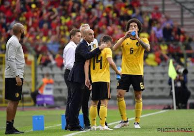Roberto Martinez explique pourquoi Axel Witsel sera dans les 26