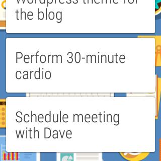 Chaos Control: Task List & GTD 1.7.1 screenshot 562455