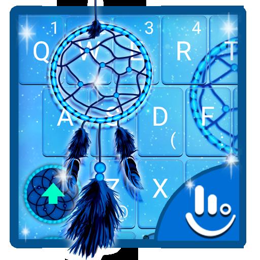 Blue Dreamcatcher Keyboard Theme