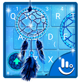 Blue Dreamcatcher Keyboard Theme