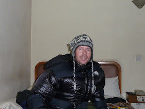 Photo: Lyngve trying his new North Fake jacket in Kathmandu