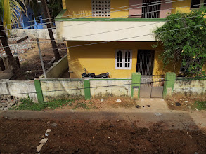 Photo: From the roof of Madhavan's house, we went to see it, 1.5 hours out of Chennai by car.