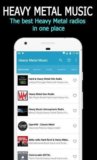 Música Heavy Metal: capturas de pantalla de Heavy Metal Radio 2