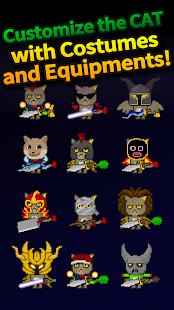 Cat Tower - Idle RPG Screenshot