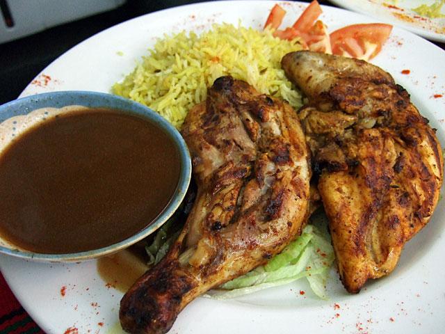 El-Sheikh chicken