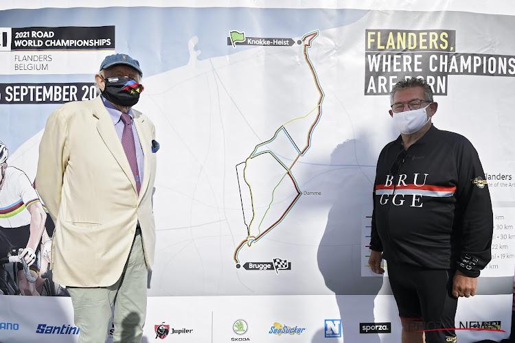 """""""Vlaanderen, waar kampioenen worden geboren"""": parcours WK tijdrijden 2021 op Belgische bodem voorgesteld"""